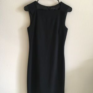 NWOT Theory sheath dress black size 2